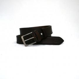 Cintura in cuoio marrone...